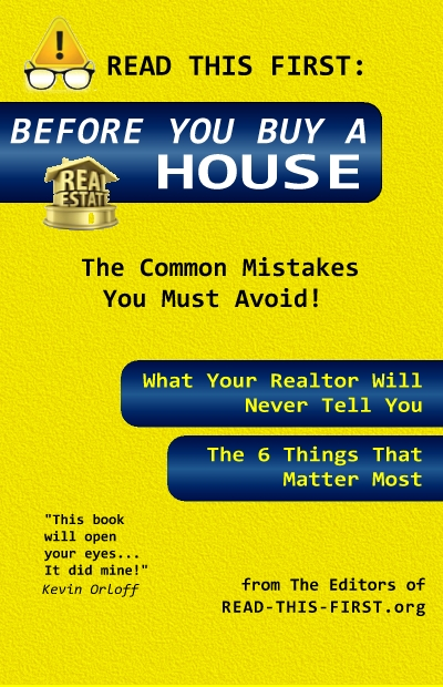 Before You Buy a House - Read This First